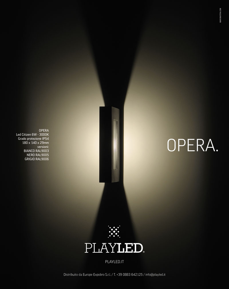 Playled, opera advertising - Mario Matera Group