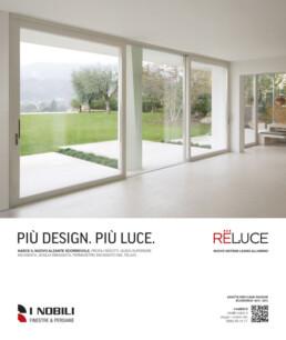 I Nobili, pagina pubblicitaria Reluce - Mario Matera Group
