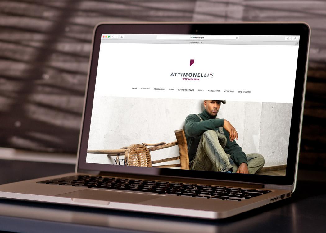 Sito web - Attimonelli's - Mario Matera Group