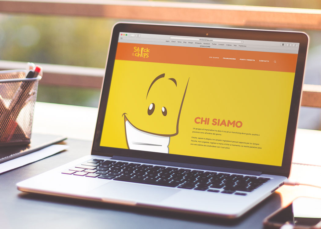 Stick&Chips, web design - Mario Matera Group