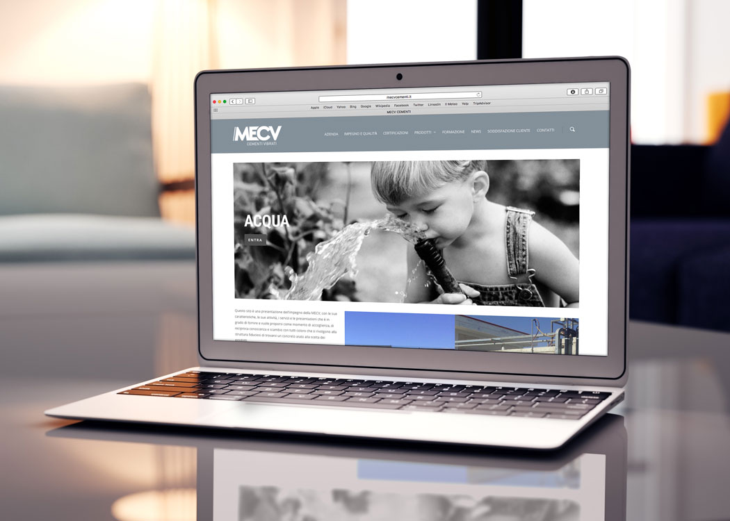MECV, web design - Mario Matera Group
