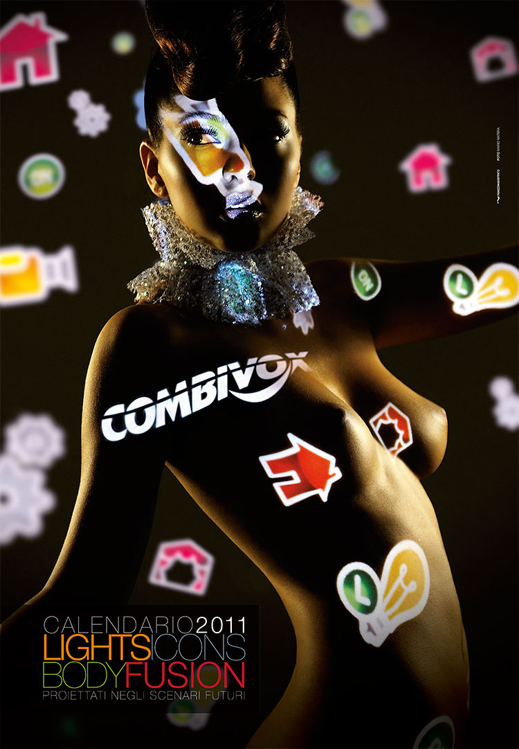 Combivox, calendario 2011 - Mario Matera Group